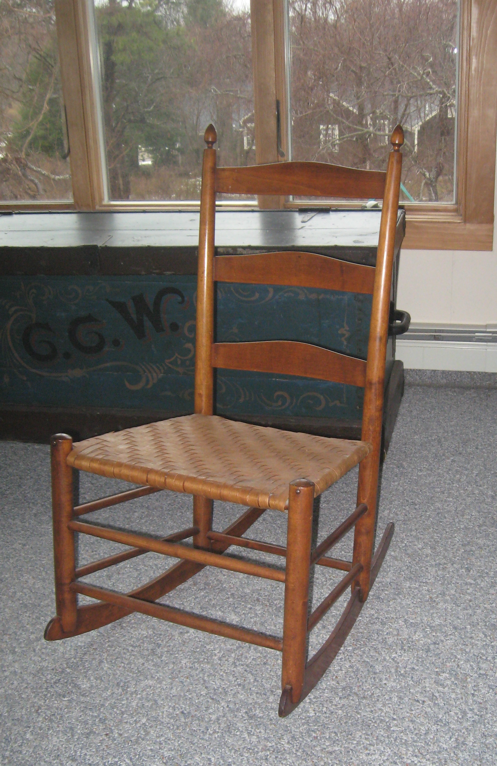 Antique shaker chairs - Antique Shaker Chairs 33